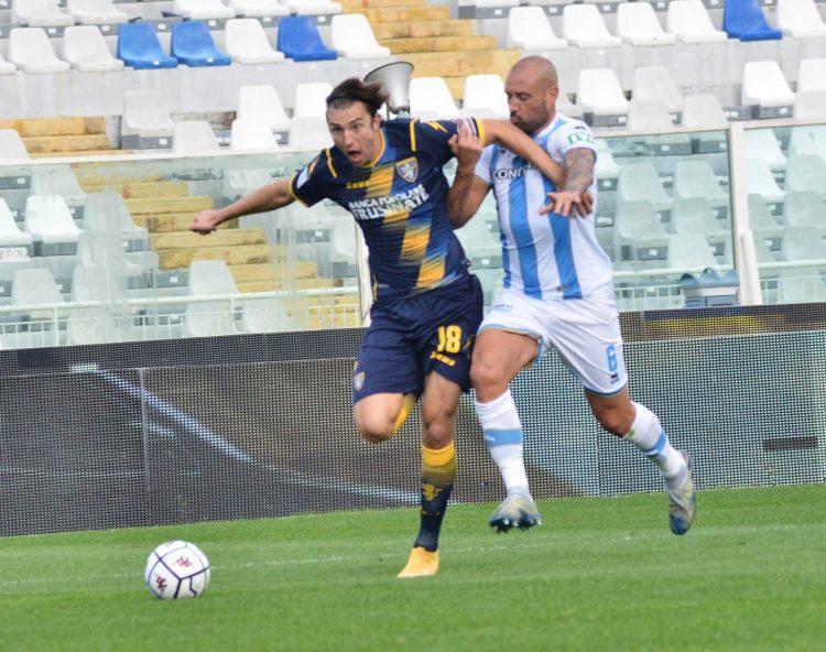 La terza divisa del Frosinone contro il Pescara