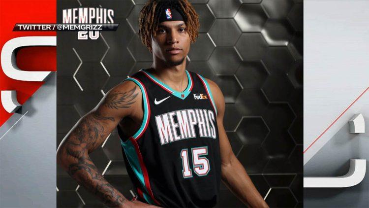 Canotta Memphis Grizzlies 2020-21 Throwback NBA