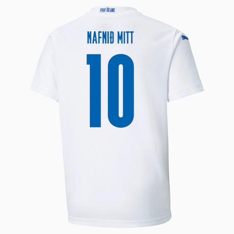 Seconda maglia Islanda 2020 numero 10