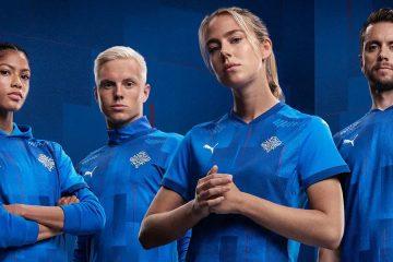 La nuova maglia dell'Islanda 2020
