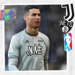 Juventus Brooklyn Nets Graphic UNTD