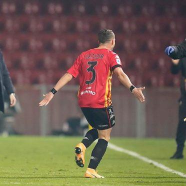 Letizia prima maglia Benevento