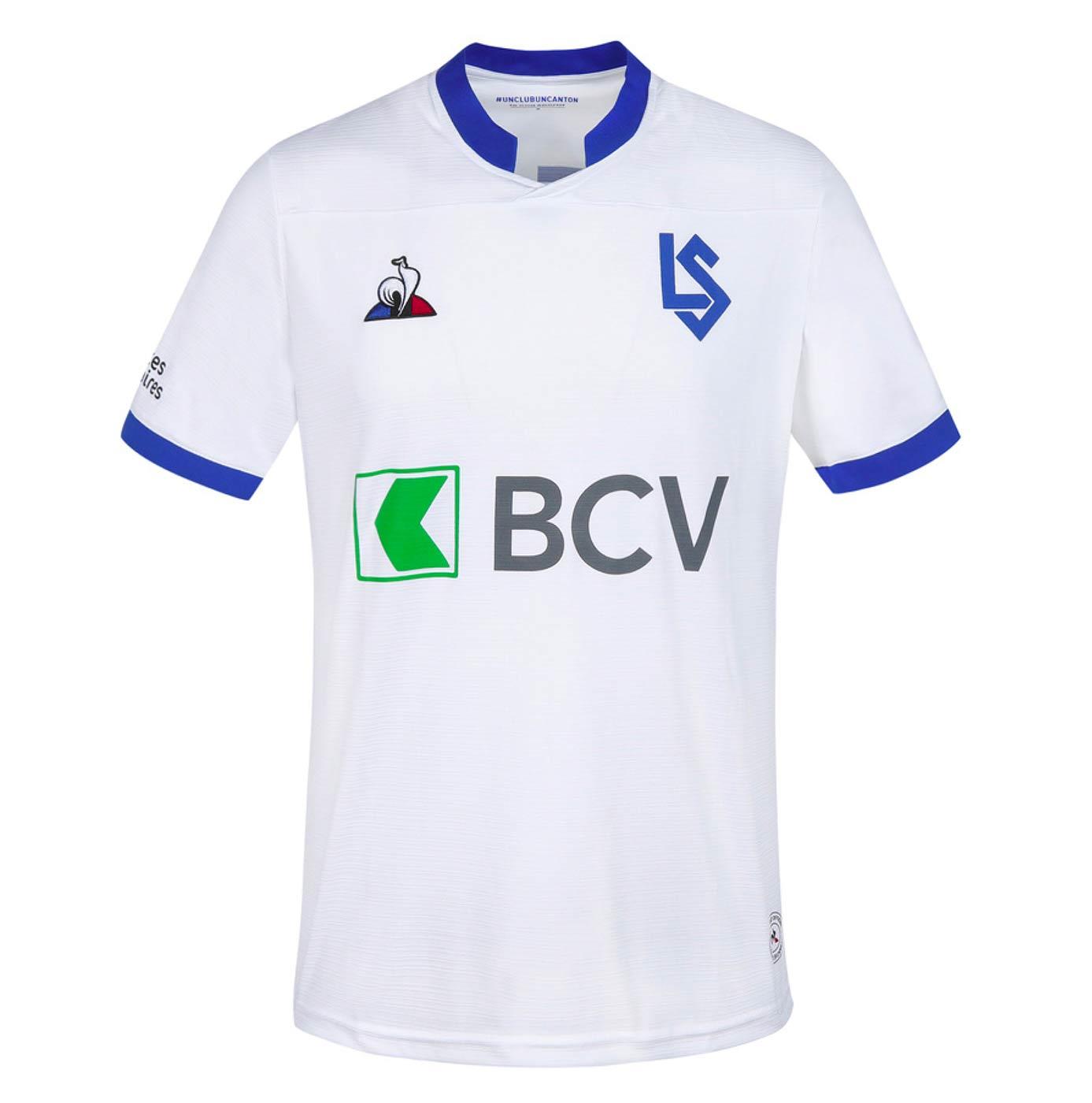 Prima maglia Losanna 2020-21 Le Coq