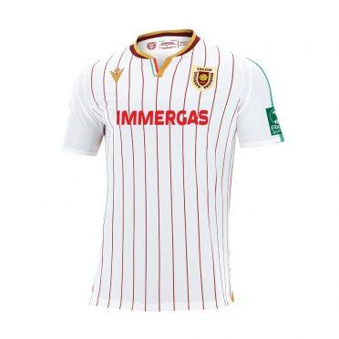 Seconda maglia Reggiana 2020-21 bianca