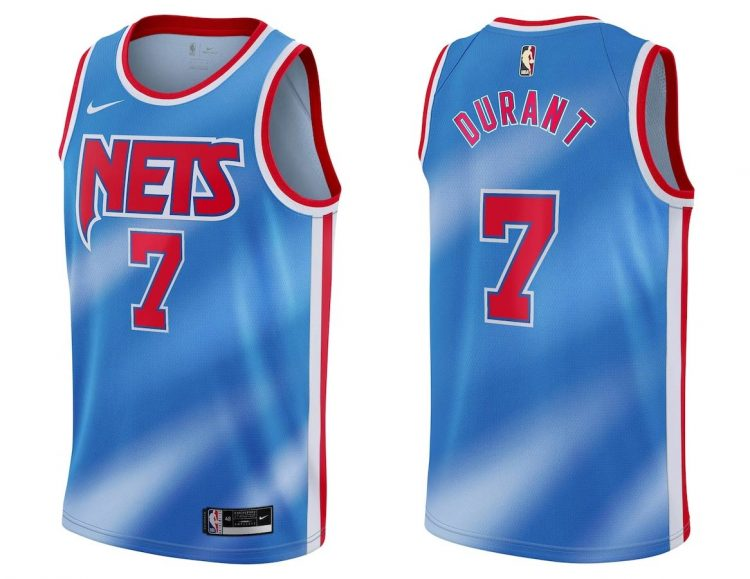 Maglia Brooklyn Nets Durant 7