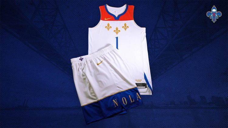 Canotta New Orleans Pelicans 2020-21 NBA City Edition