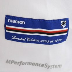 Etichetta edizione limitata Sampdoria