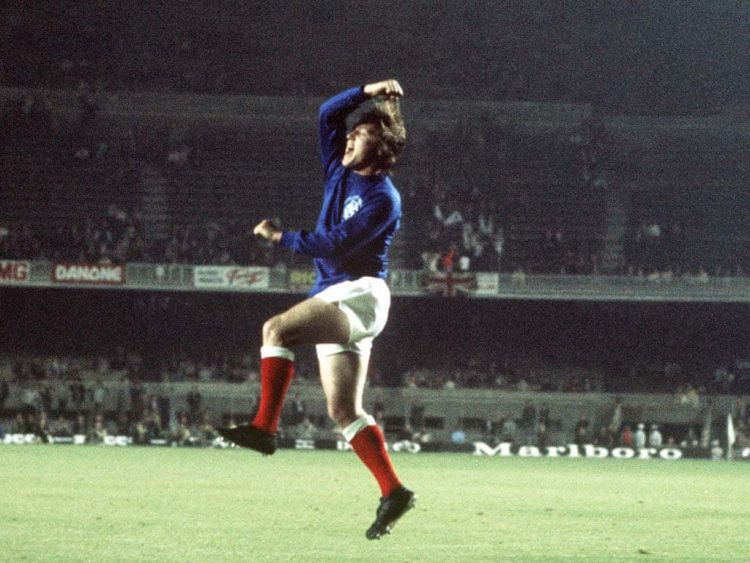 Will Johnston - Rangers Coppa delle Coppe 1972