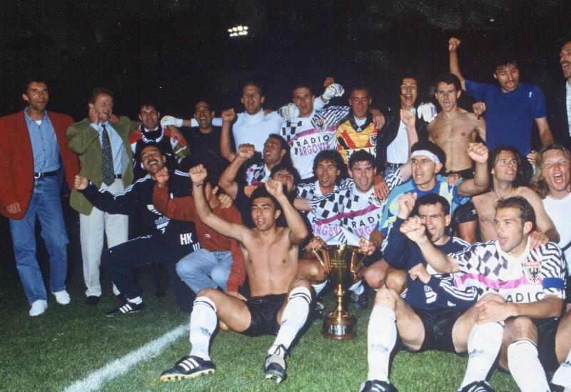 aarau campione svizzero 1993 di matteo
