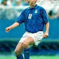 Demetrio Albertini durante i Mondiali del 1994 in USA