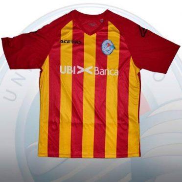 Seconda maglia Albinoleffe 2020-21 giallorossa
