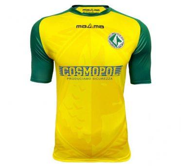 Terza maglia Avellino 2020-2021 gialla