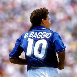 Maglia Roberto Baggio Italia 1994 font
