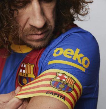 Puyol fascia capitano Barcellona