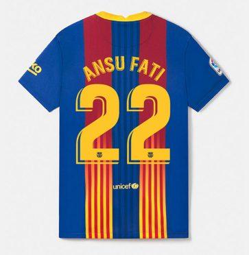 Maglia Barcellona speciale 2021 Clasico Ansu Fati