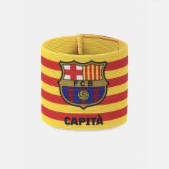 Fascia capitano Barcellona con i colori della Catalogna