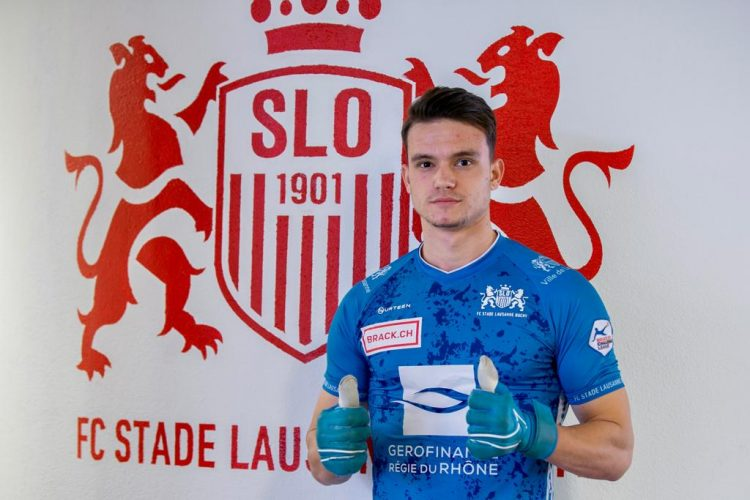 maglia portiere stade lausanne ouchy 2020-2021 blu