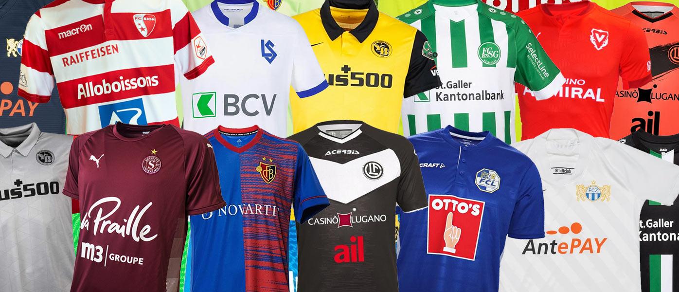 Le maglie della Super League Svizzera 2020-21
