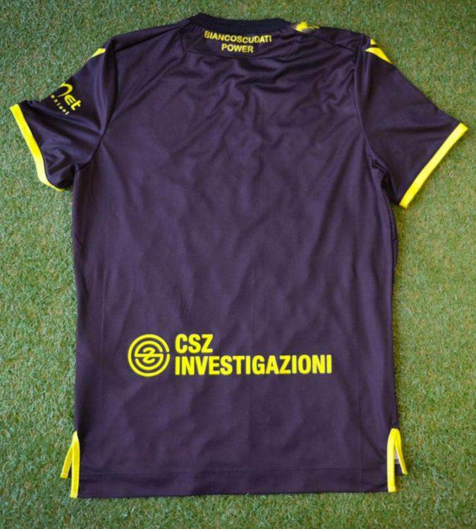 Terza maglia Padova nera 2020-21