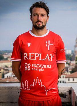 Seconda maglia Padova rossa 2020-21