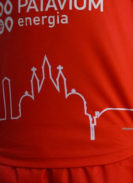 Skyline monumenti Padova sulla maglia