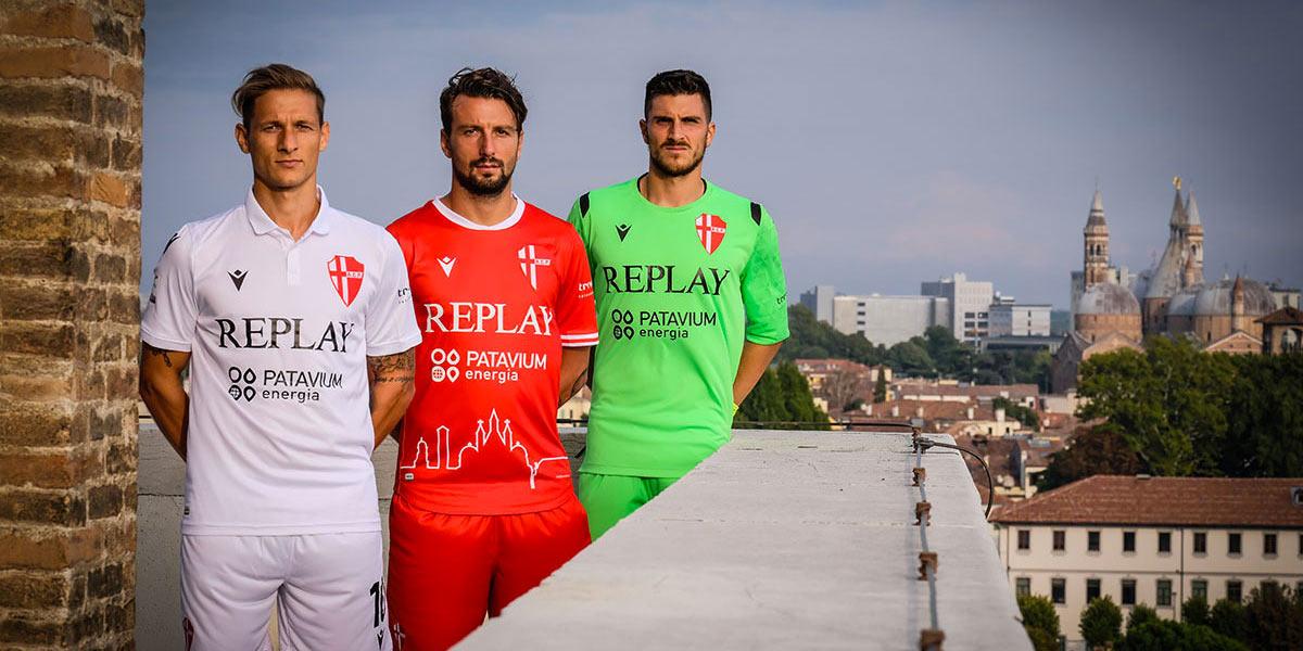Le maglie del Padova 2020-2021