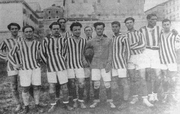 Perugia 1920-21 maglia a righe
