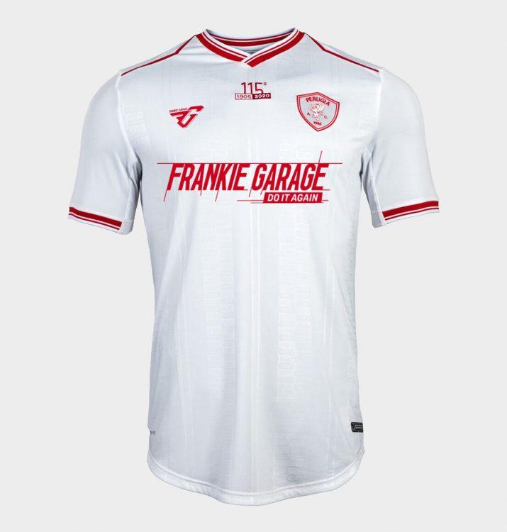 Seconda maglia Perugia 2020-21 bianca