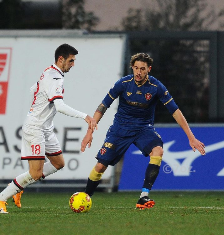 Terza divisa Perugia blu-oro