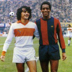 Pistoiese maglia bianca-arancione 1980-81