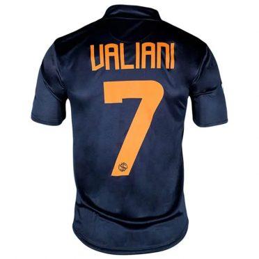 Seconda maglia Pistoiese blu Valiani