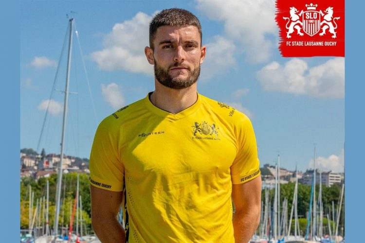 Maglia portiere Stade-Lausanne-Ouchy gialla