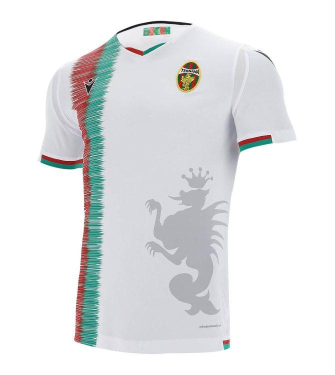 Seconda maglia Ternana 2020-2021