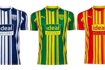 Maglie West Bromwich Albion 2020-2021