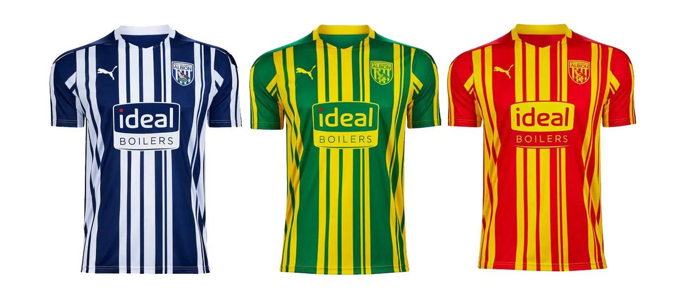 Maglie West Bromwich Albion 2020-2021
