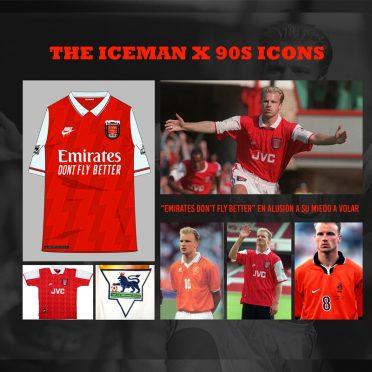 Eroi 90 Arsenal Bergkamp