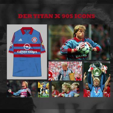 Eroi 90 Bayern Monaco Kahn