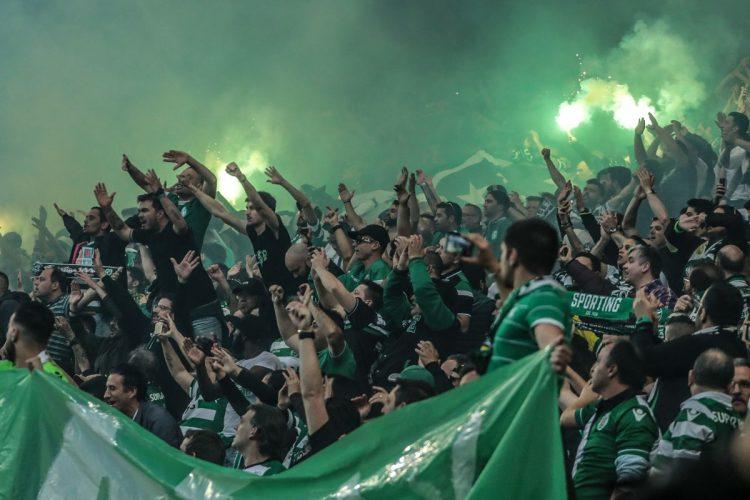 Tifoseria Sporting Lisbona