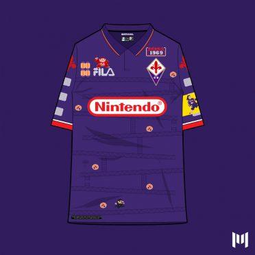 Maglia 90 Fiorentina Batistuta
