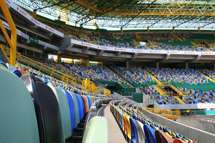 Vista spalti Stadio Sporting
