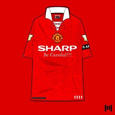 Maglia 90 Manchester United Cantona
