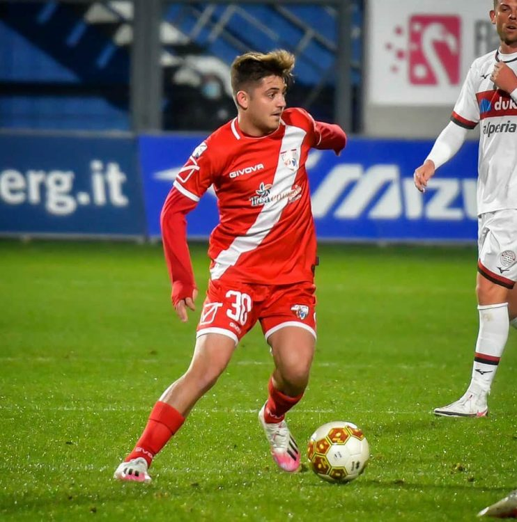 Mantova kit away 2020-2021 rosso