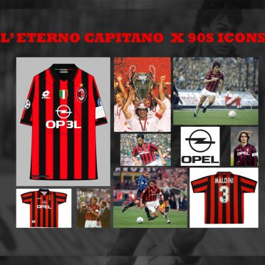 Eroi 90 Milan Maldini