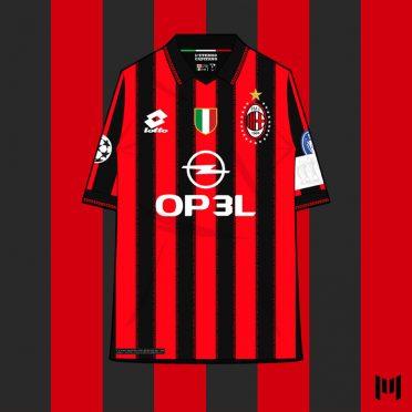 Maglia 90 Milan Maldini