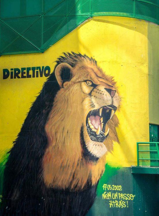 murales Sporting Lisbona