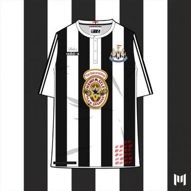 Maglia 90 Newcastle United Shearer