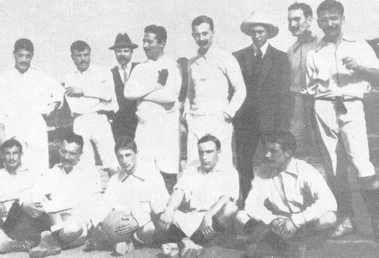 prima divisa Sporting Lisbona 1906