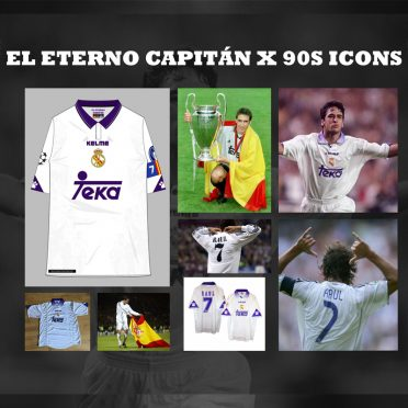 Eroi 90 Real Madrid Raul