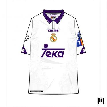 Maglia 90 Real Madrid Raul