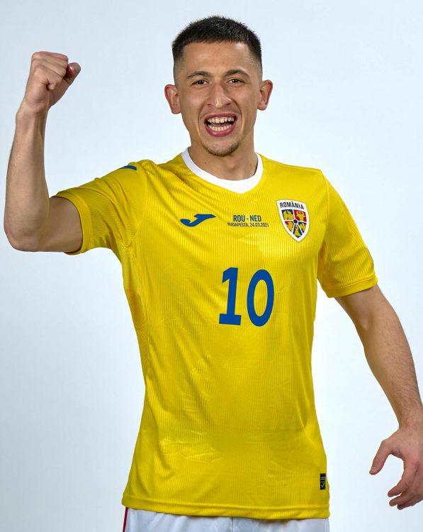 Prima maglia Romania 2021-2022